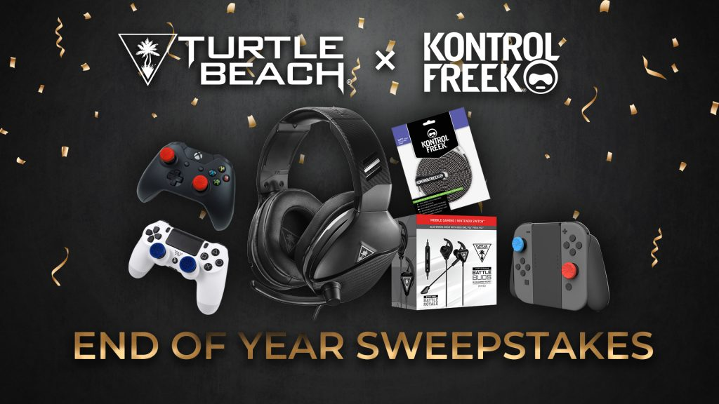 Turtle Beach x Kontrol Freek End of Year Sweepstakes Giveaway