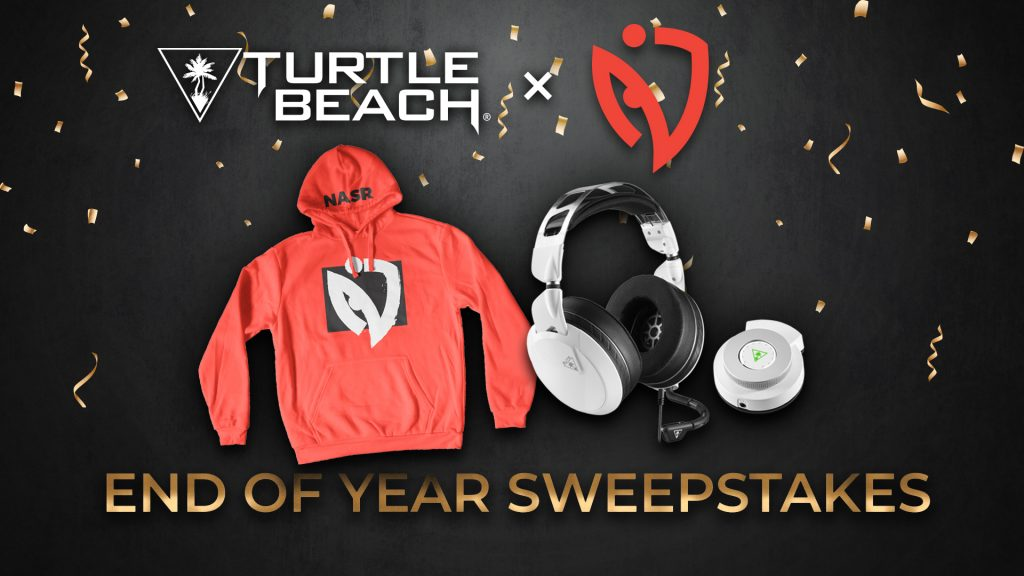 Turtle Beach x NASR eSports End Of Year Sweepstakes Giveaway