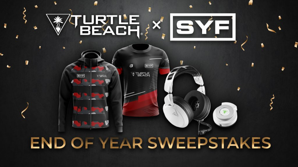 Turtle Beach x SYFGAMING End Of Year Sweepstakes giveaway