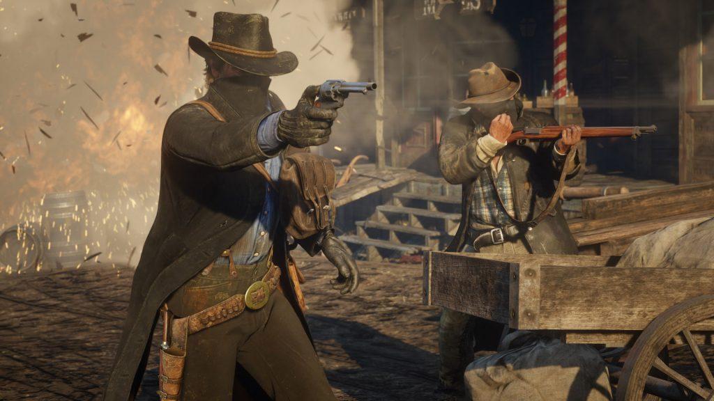 Red Dead Online's Real Battle Royale Mode Arrives