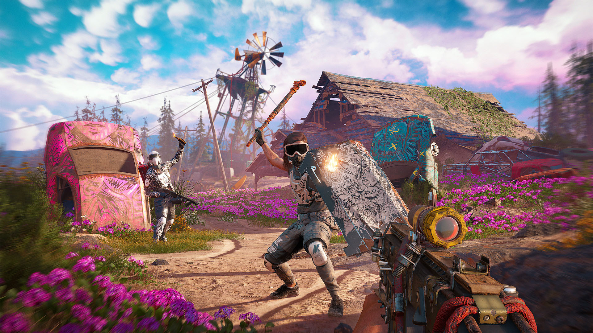 The Best Guns In Far Cry New Dawn Turtle Beach Blog