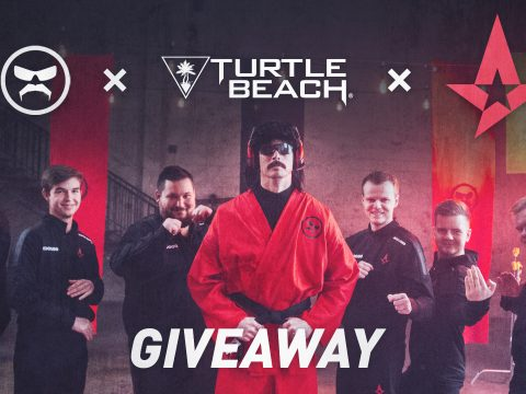 DrDisRespect x Astralis x Turtle Beach GIVEAWAY