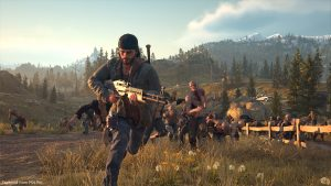 Days Gone on PS4 Pro