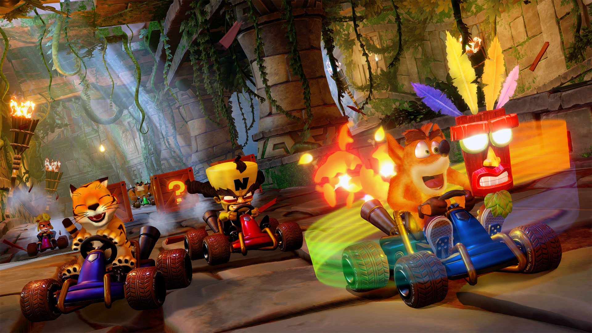 Crash Team Racing Nitro-Fueled brings the classic racer to the future