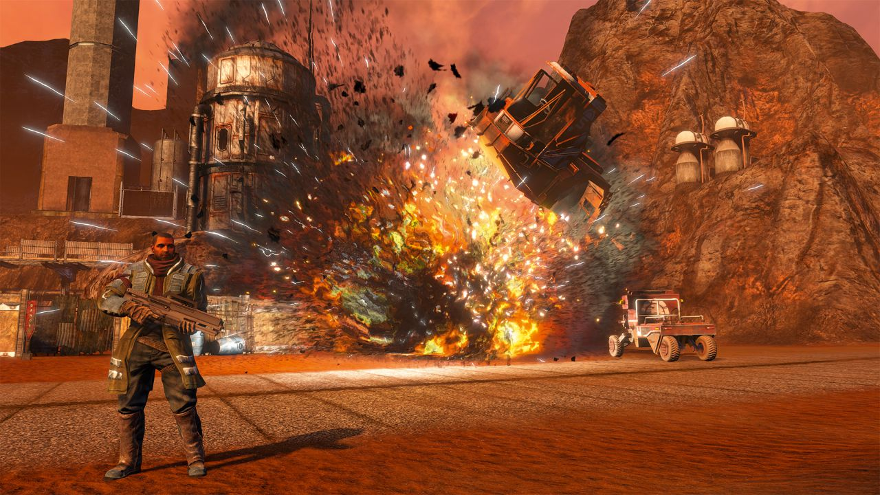 Explosions and destruction are one of the mosty important parts of Red Faction: Guerilla!