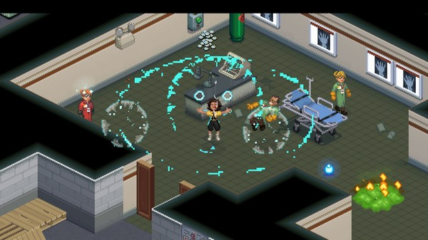 Eleven attacks scientists in a lab with her powers