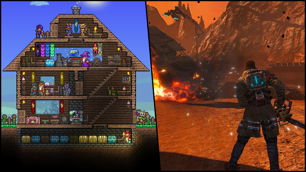 Explore a New World With Terraria and Red Faction: Guerrilla