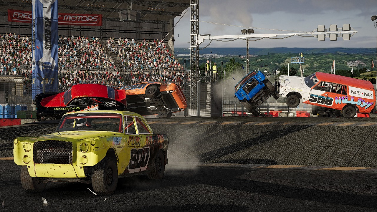 Five Metal Twisting Driving Games That Remind Us of Wreckfest