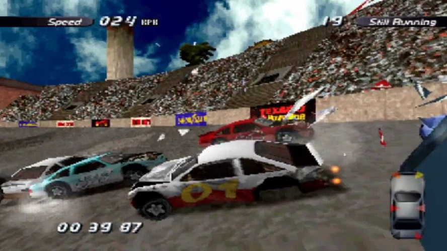 Five Metal Twisting Driving Games That Remind Us of Wreckfest Destruction Derby