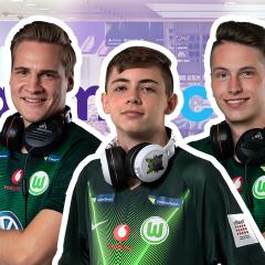 eSport-Stars auf der gamescom: Trefft die FIFA-Spieler vom VfL Wolfsburg bei Turtle Beach
