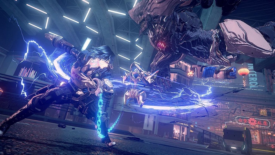 Astral Chain Legions & Where to Find Them Arm