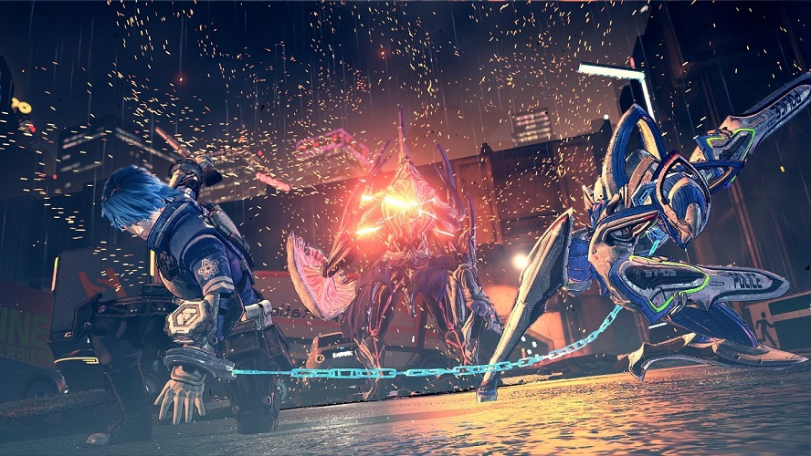 Astral Chain Legions & Where to Find Them Sword