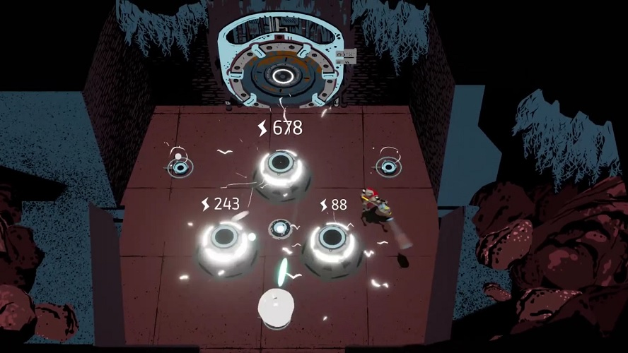 Creature In The Well Merges Pinball Antics With Adventure Mechanics Pinball Puzzle