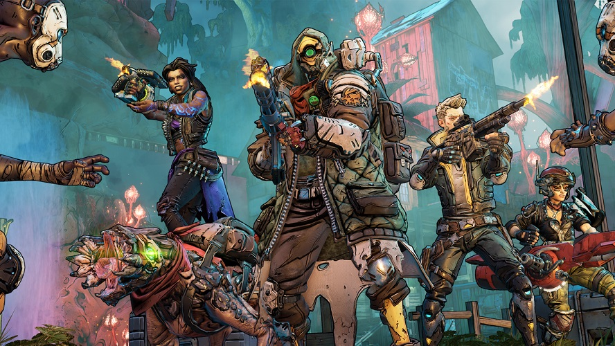 2019's Best PC Games To Play Over The Holidays Borderlands 3