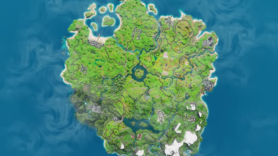Fortnite Chapter 2 Has Brought A Whole New Island Full Of