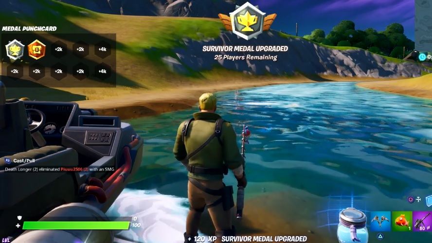 Fortnite Chapter 2 Has Brought A Whole New Island Full of Goods Medals