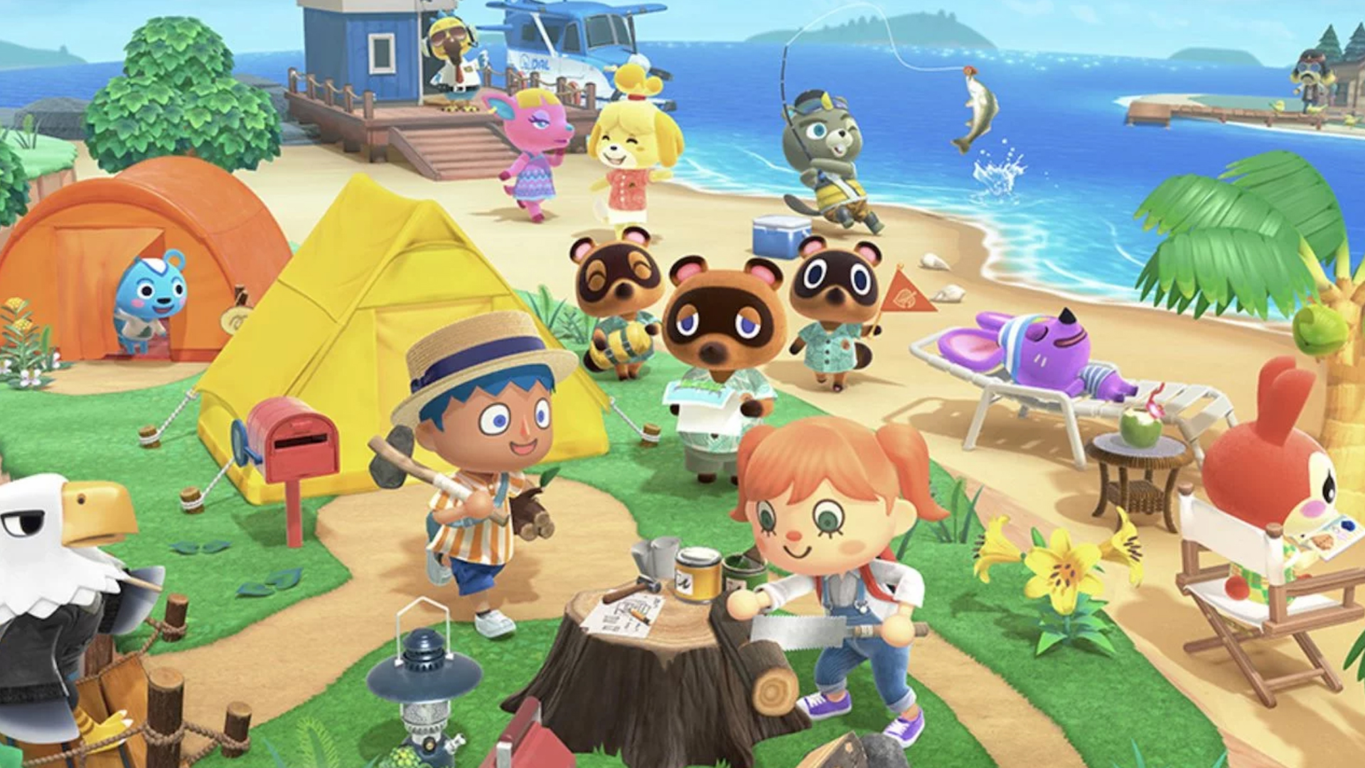 New features to get excited about in Animal Crossing: New Horizons