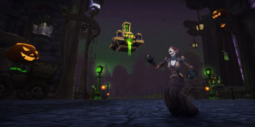WoW The Hallows's End event.