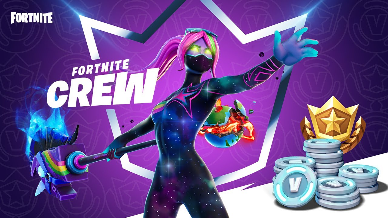 Epic Announces Fortnite Crew Monthly Subscription Service