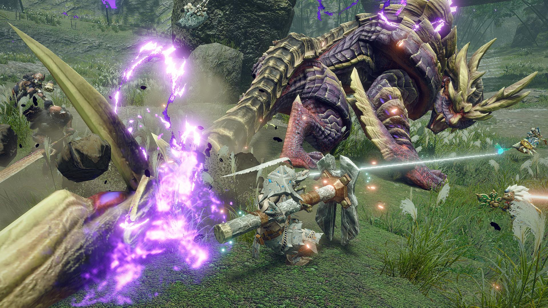 Capcom Releases Monster Hunter Rise Demo