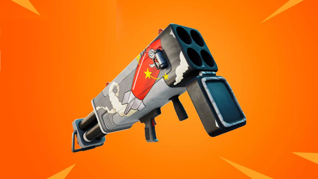 The new missile-launching Burst Quad Launcher