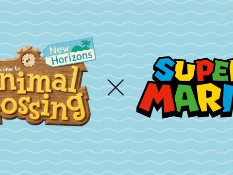 Super Mario Bros. 35th Anniversary Items in Animal Crossing: New Horizons