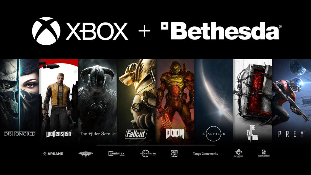 The original Xbox + Bethesda announcement image