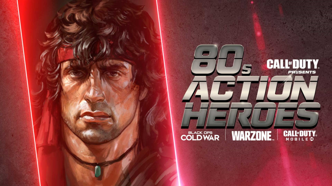 Call of Duty Warzone and Cold War '80s Action Hero Event: Rewards and New Content