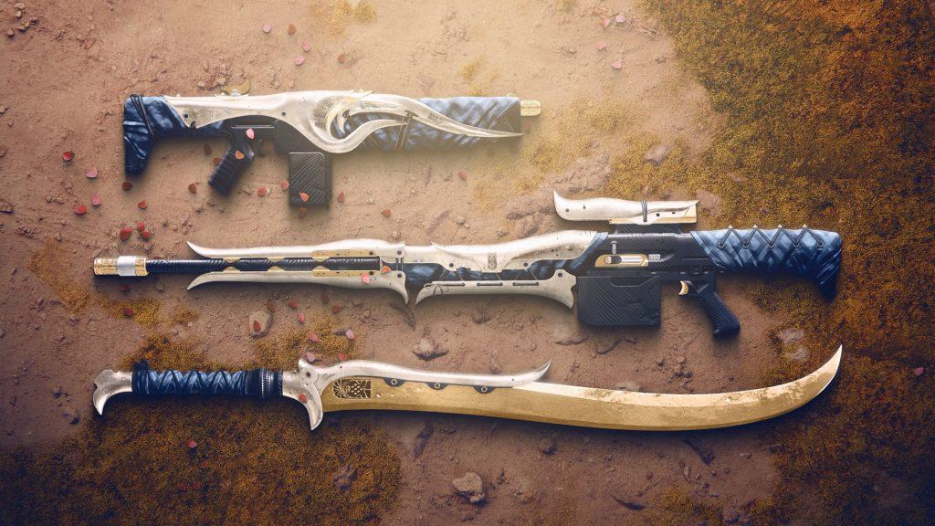 Three weapons from Forsaken's Dreaming City make their return.