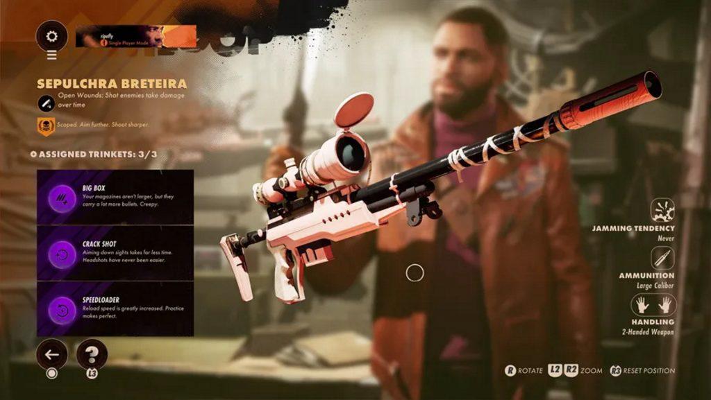 Deathloop weapons guide