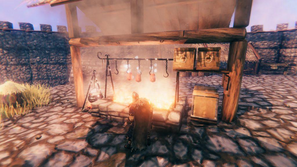 Valheim How to Craft New Furniture