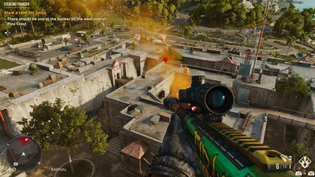 Far Cry 6 best weapons el tirano